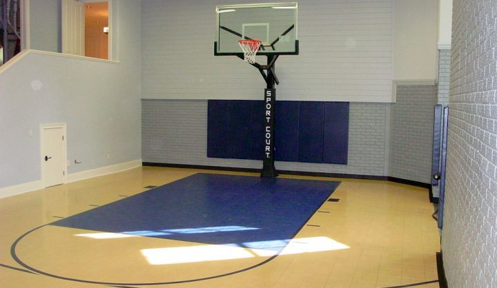 19 Modern Indoor Home Basketball Courts Plans And Designs Home Basketball Court Indoor Basketball Court Outdoor Basketball Court