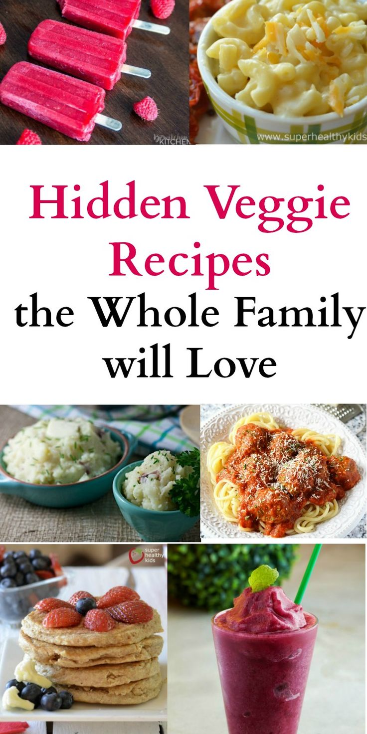 If you have a picky eater in the family, these hidden veggie recipes are a life saver. They are healthy but also fun and easy for kids to eat. #hiddenveggies #kidrecipes #pickyeater