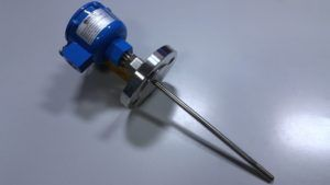 Atex resistance thermometer with flange