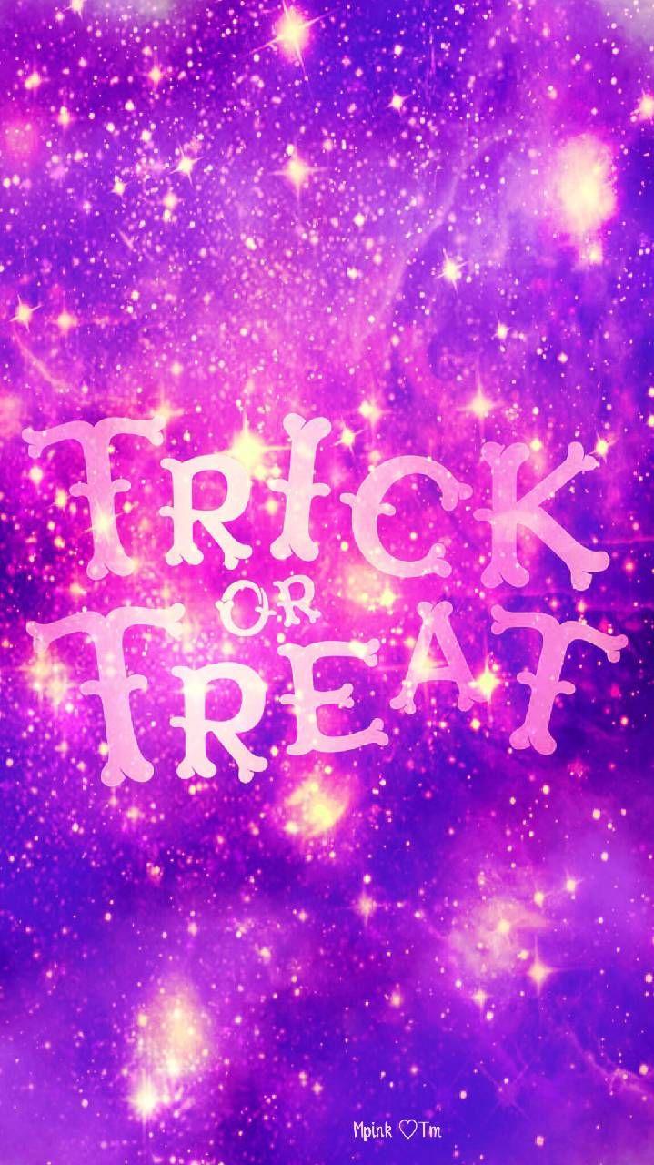 Trick Or Treat Galaxy Wallpaper Androidwallpaper Iphonewallpaper Wallpaper Galaxy Sparkle Glitter Lockscreen Galaxy Wallpaper Wallpaper Cool Backgrounds