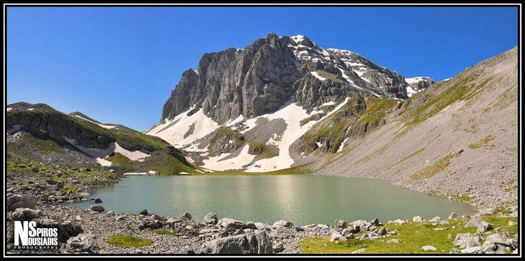 Αλπικό Τοπίο - Alpine Scenery by Spiros Nousiadis