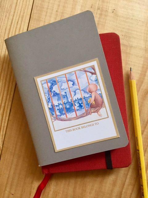 6 Etiquets, Ex-Libris, Imprimible, DYI, Pegatina de VaradiIlustration en Etsy https://www.etsy.com/es/listing/507618380/6-etiquets-ex-libris-imprimible-dyi
