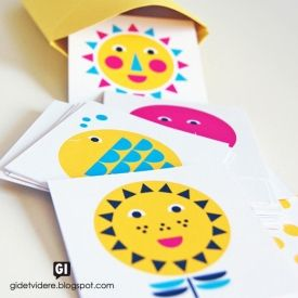 Make the summer last forever with this free printable memory game! 12 sunny illustrations and a box to keep the cards in place.