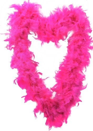 FEATHER BOA 65G THICK HEN NIGHT ACCESSORY FANCY DRESS FLAPPER BOAS IN 10 COLOURS 1920'S BURLESQUE FEATHERS (HOT PINK) ILOVEFANCYDRESS http://www.amazon.co.uk/dp/B00IN36VOU/ref=cm_sw_r_pi_dp_-MZWvb1GJ1MYT