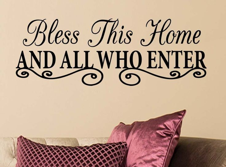 Bless this home and all who enter beach house starfish love cute church blessed inspirational family vinyl wall art quote sayinglettering sign room decor >>> You can get additional details at the image link. (This is an affiliate link and I receive a commission for the sales)