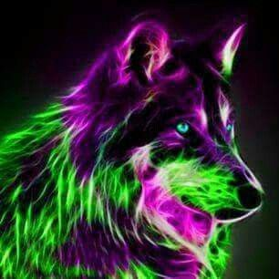 neon wolf wallpaper neon wolf by ultrawolf on deviantart