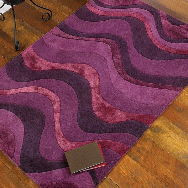 Botanical Saria Rugs In Purple Online From The Rug Er Uk