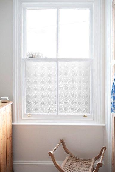 Emma Jeffs Contemporary Window Film in Pearl