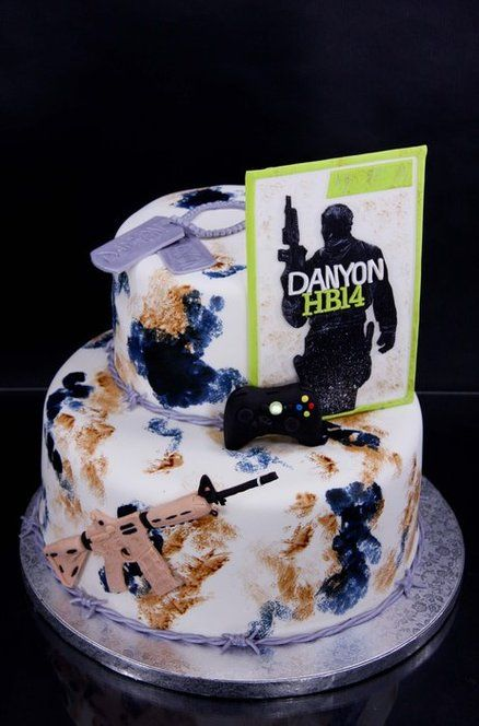 Teen Boy Cakes | Teenage boys and Toys - by KalliCakes @ CakesDecor.com - cake ...