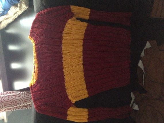 Harry Potter Quidditch Accessories Sweater and Pads