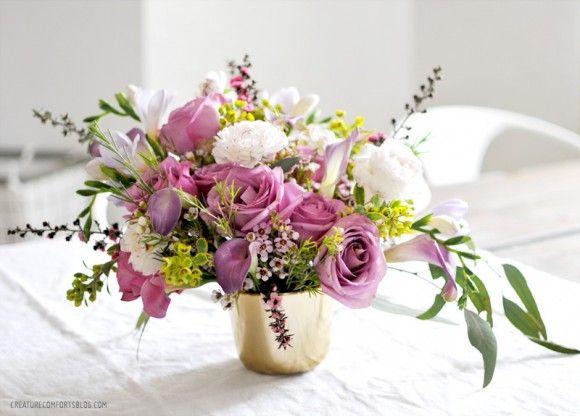 Floral Arranging Week Two Via CreatureComforts