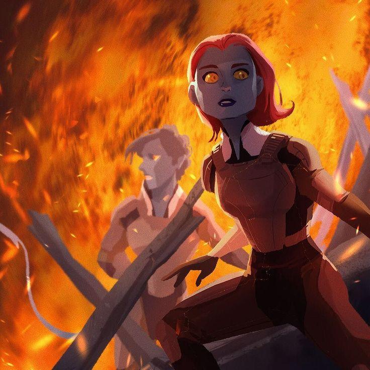 X-men:Apocalypse art by DaHyeu Celine Kim - Visit to grab an amazing super hero…