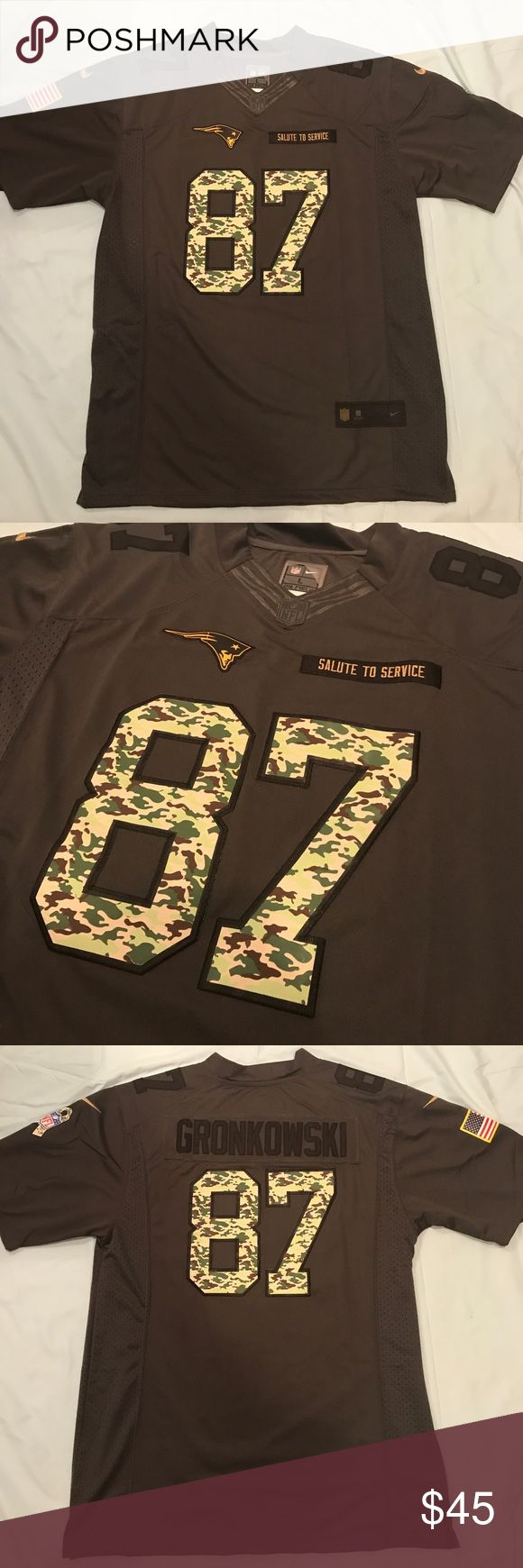Rob Gronkowski Jersey Salute to Service NE Patriots. NWT stitched. Hot jersey 🔥 Shirts