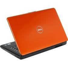 another orange laptop