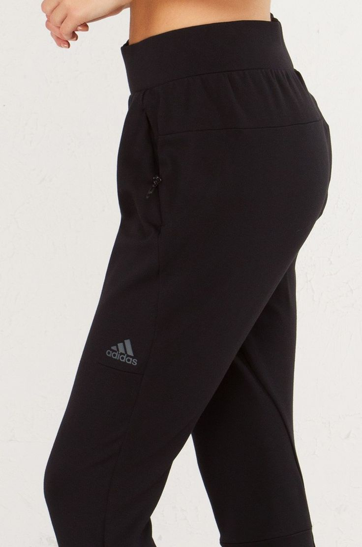 ADIDAS Tapered Sweat Pant Joggers in Black
