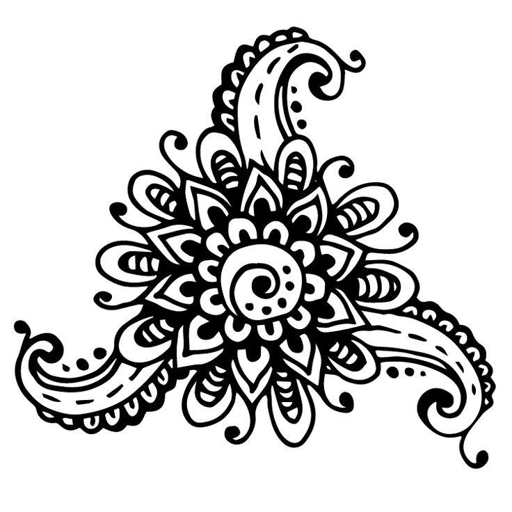 Henna Design Temporary Tattoos #642