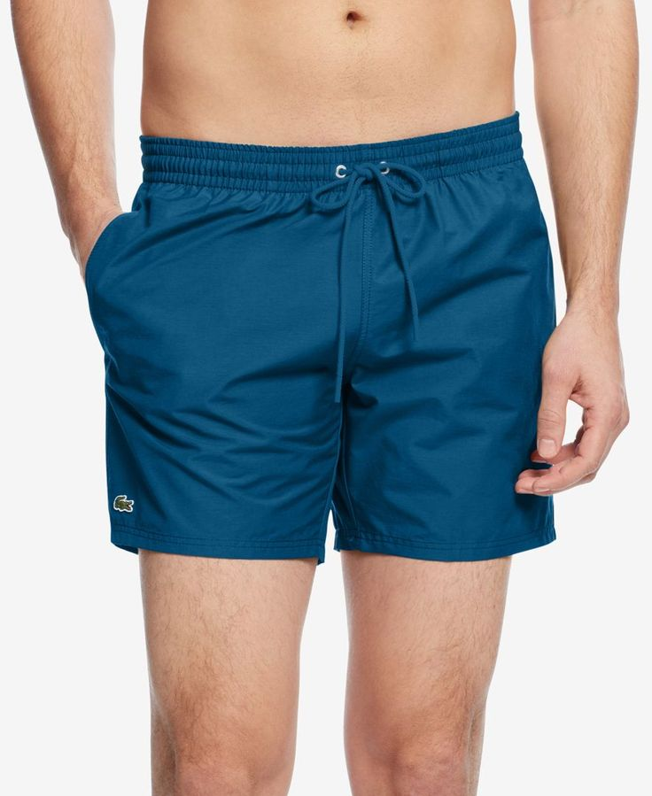 Lacoste Men's Basic Swim Trunks