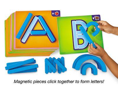 Magnetic Letter Builders - Starter Set at Lakeshore Learning
