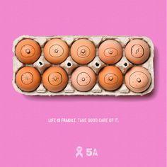 Outubro Rosa - Campanha de prevenção do cancer de mama | Pink October - Breast cancer prevent campaign.