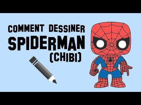 Comment dessiner Spiderman (Chibi) - YouTube