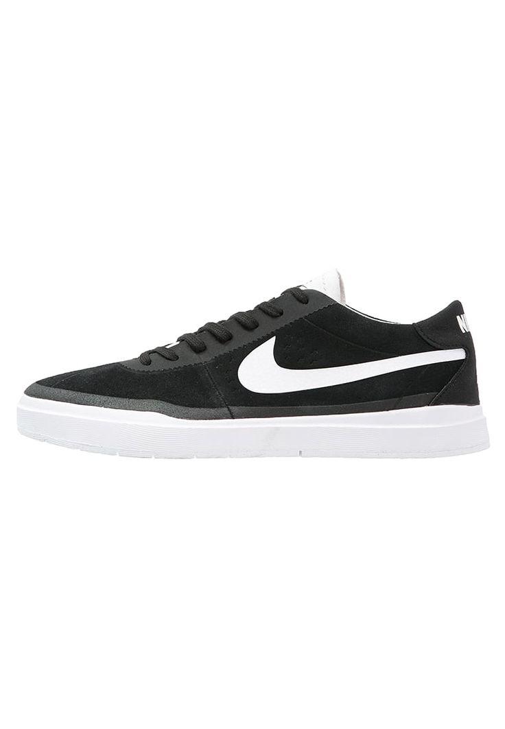 Nike SB BRUIN HYPERFEEL - Baskets basses - black/dark grey/white/max orange - ZALANDO.FR