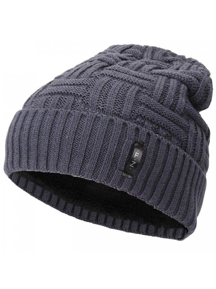 3f1c63941e0 Beanies Skull Caps Striped Knit Skull Caps Beanie Winter Hats for ...