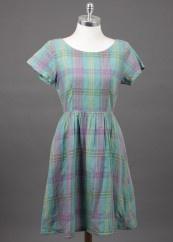Original vintage check dress