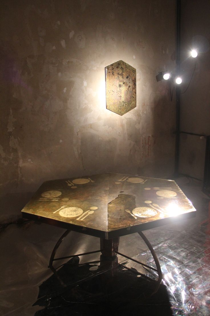 "Carlo Trucchi. The best. KAGADATO selection. *********************""Apparecchiato per Sei"", 2015, Italy.   #erastudioapartmentgallery #erastudio #designgallery #collectibledesign #design #gallery #milan #italy #igersmilano #carlotrucchi #table #resin #wood #glass #uniquepiece #agedbrass #brass #apartmentgallery #apartment #ambience #places #placetobe #apparecchiatopesei #details #artwork #handmade #contemporary #interior #italiandesign #craftmanship #plates #madeinitaly #exhibition…"
