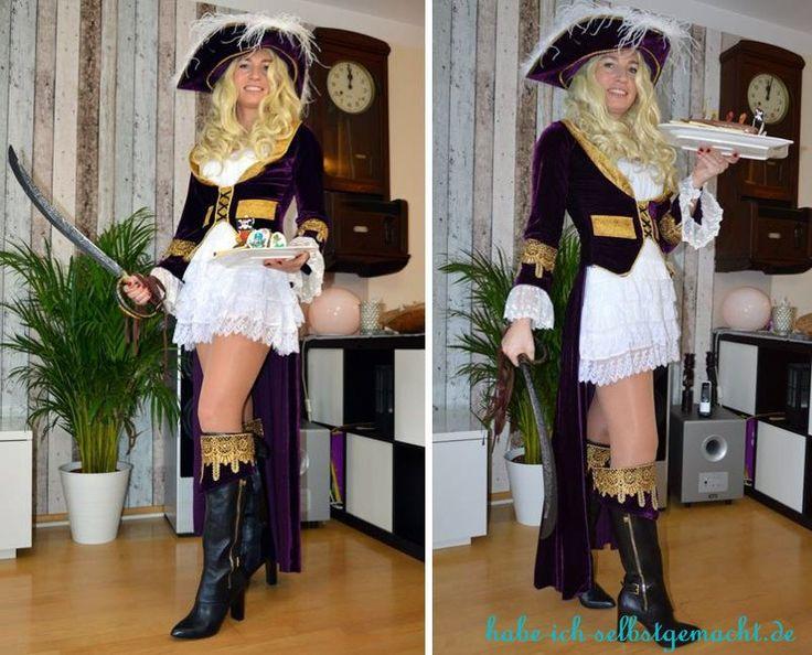 Piratinnen Kostüm