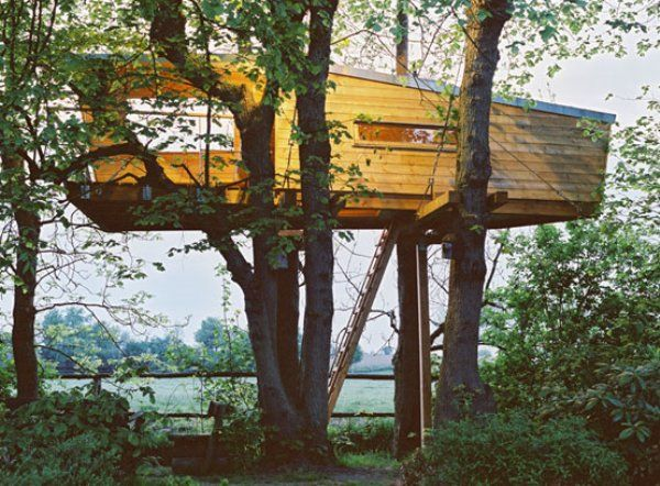 There Are Two Gifts From My Childhood Iu0027m Still Asking For, And One Is A  Treehouse. Enter German Treehouse Making Company, Baumraum.