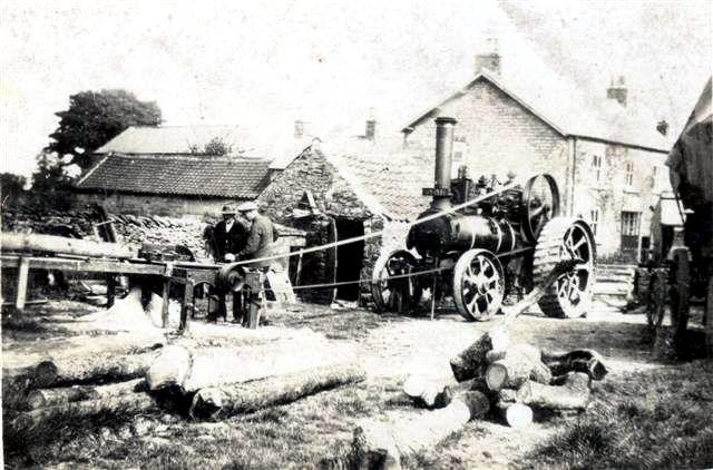 Working in Cropton Wood Yard