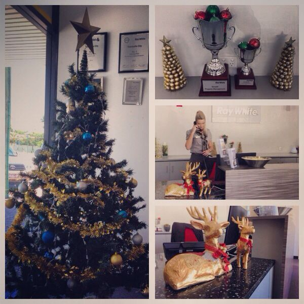 It's beginning to feel a lot like Christmas at our office!