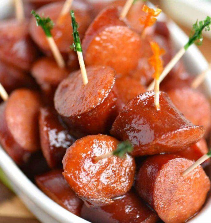 Prepara Este Delicioso Y Sencillo Cóctel De Salchichas Estilo Acapulqueño Recetas Deliciosas Recetas Con Salchichas Recetas Fáciles