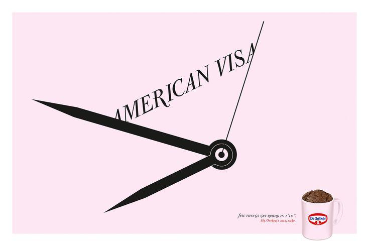Dr. Oetker Mug Cake: American visa