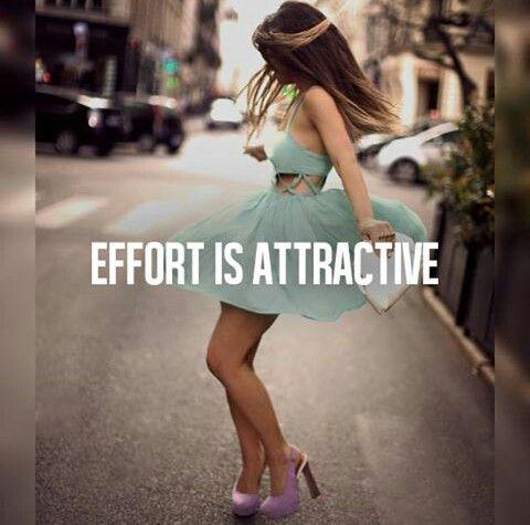 Effort Is Attractive
