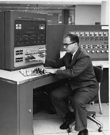 1957 Alex Bernstein creates first complete chess program.