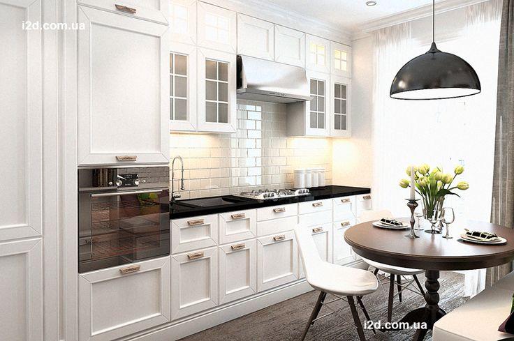 Интерьер маленькой квартиры 40кв.м в скандинавском стиле г Ирпень - Дизайн интерьеров | Идеи вашего дома | Lodgers