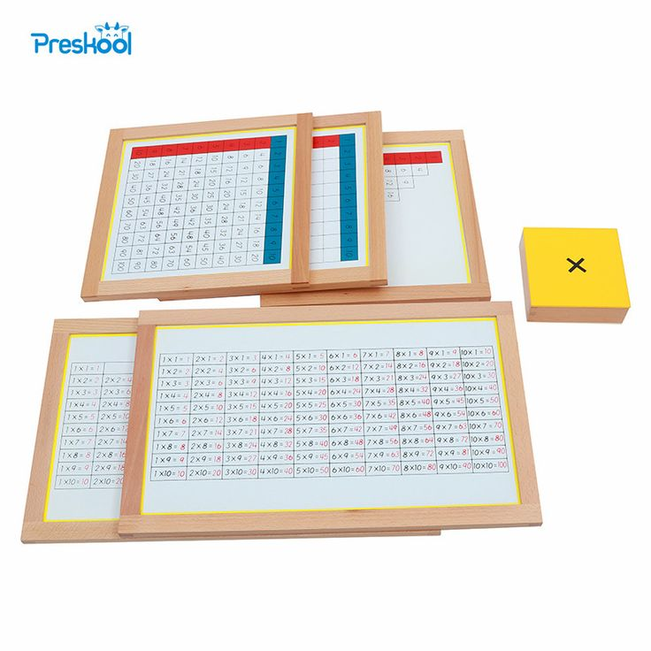 Cheap baby toys montessori, Buy Quality wooden montessori directly from China multiplication montessori Suppliers: Montessori Kids Toy Baby Wood Multiplication Working Charts Learning Educational Preschool Training Brinquedos Juguets