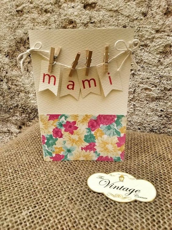 Tarjetas para el día de las madre / Mother's Day Cards: