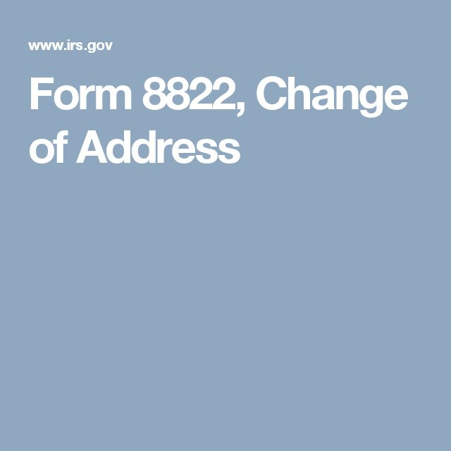 The 25+ best Internal revenue service address ideas on Pinterest - address change form