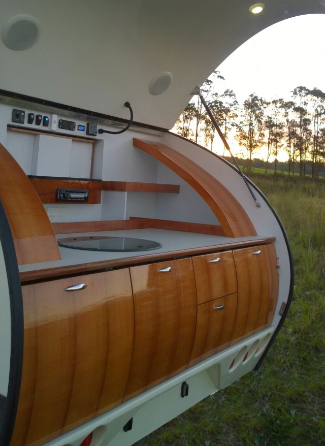 Discover pint size luxury in this teardrop camper | A blog by Sunset
