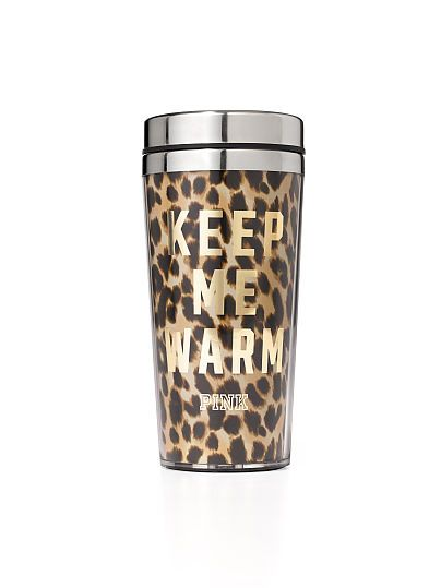 Coffee Tumbler PINK in the cheetah print one! I love these cups!