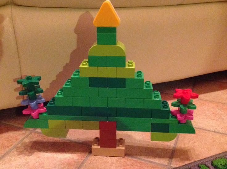 Albero di Natale Lego Duplo