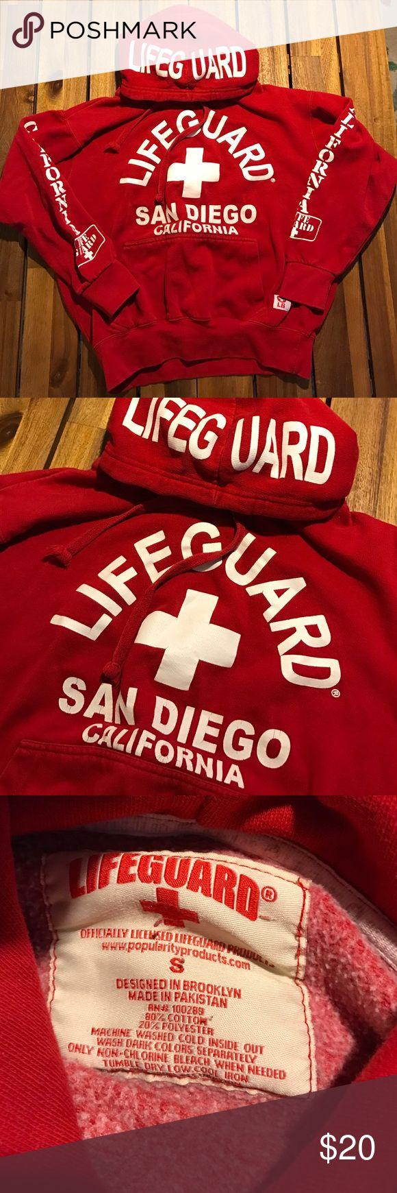 Life Guard Hoodie San Diego // Size S Tops Sweatshirts & Hoodies