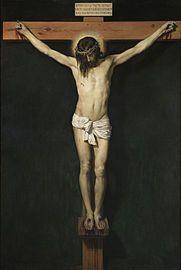Cristo crucificado (1632), de Diego Velázquez, Museo del Prado, Madrid.