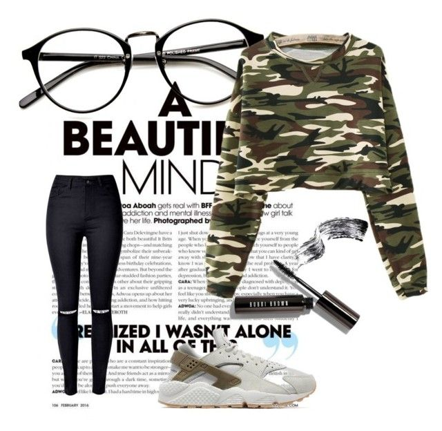 """Без названия #1"" by leritoburito on Polyvore featuring мода, WithChic, NIKE и Bobbi Brown Cosmetics"