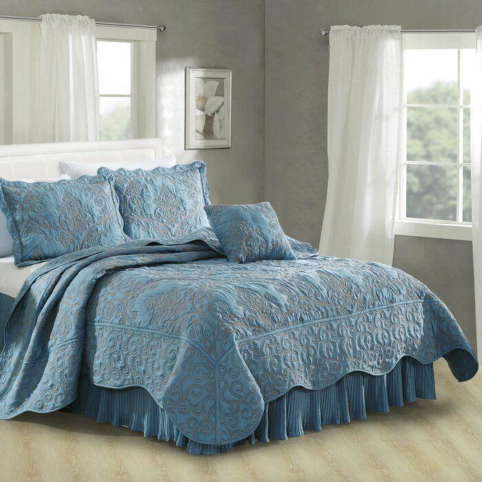 Lucinda Quilt Set Blue Quilt Bedroom Bedding Sets Quilt Sets