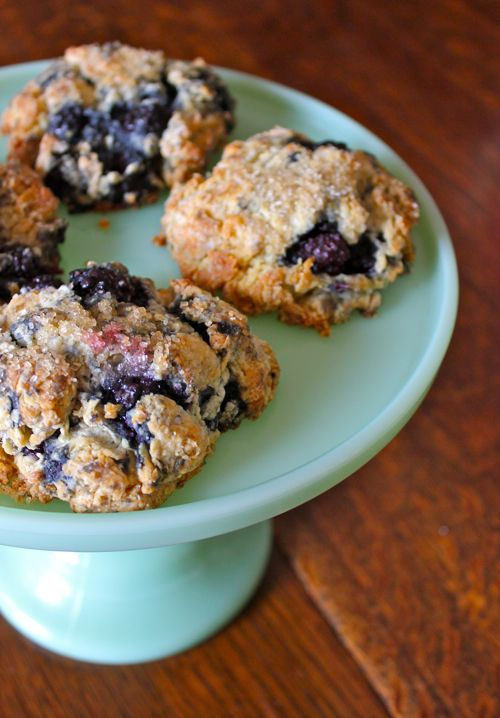 Blackberry scones from Big Sur Bakery - this is the best scone recipe I've ever tried!