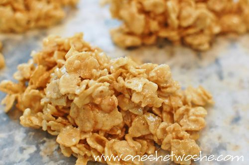 "This is so addicting! ""Death By Special K"" Chewy Treat www.orsoshesays.com"