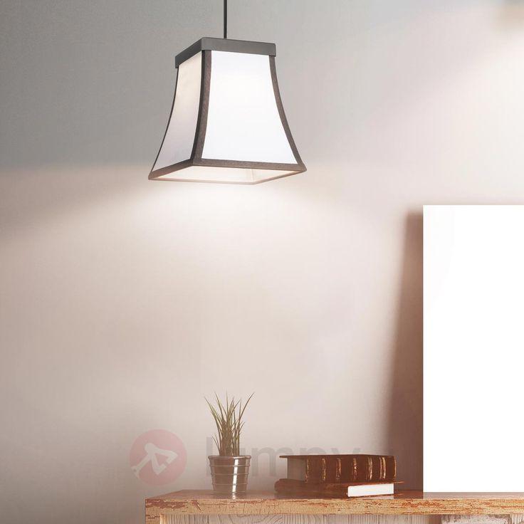 Rustykalna lampa wisząca LED Fancy z abażurem 6026574
